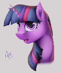 Twilight portrait