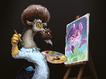 Paint a Happy Little Pony