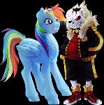 Rainbow Dash meets Cherry