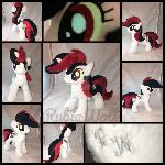 EFNW '17 - MLP 10in Blackjack w/glow eyes plushie