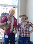 Big Macintosh and AppleJack- Anime Boston 2017