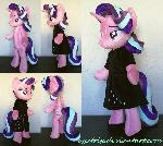 Starlight Glimmer (anthro) plush