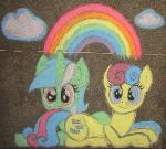 Chalk Lyra and Bonbon