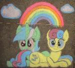 Chalk Lyra and Bonbon