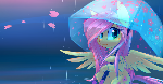 Fluttershy in the Rain