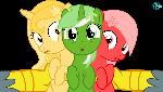 Derpibooru's vote ponies