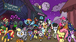 [MLP] - Halloween Desktop Wallpaper 2016