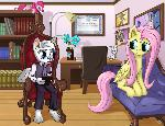 Fluttershy's Therapy Visit