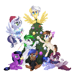 Christmas Pones