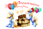 Happy Birthday Le Poney Blanc V2