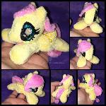 4.5 inch mini Fluttershy plushie ::Commission::