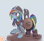 Your trusty viking, Rainbow Dash