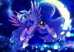 Princess Luna - Moonlight flight