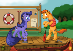 (MLP) Chatting at the river