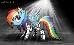 Robot Rainbow Dash