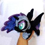 Nightmare Moon ''Lazy Pony'' Beanie
