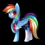 Schoolgirl Dash + Speedpaint