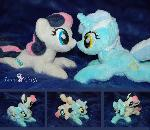 Lyra and Sweetie Drops (Bon Bon)