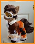 mlp plushie Commission Tracer from Overwatch
