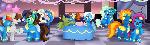 Comm: Wonderbolt Party
