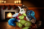 Comm: Warm Fireplace