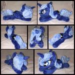 MLP Beanie Season 1 Luna Plushie ::Commission::