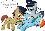 Rainbow Dash Under Arrest