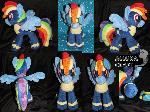 Rainbow Dash (Crash) Wonderbolts for sale
