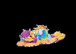 ScootaDash sticker 2