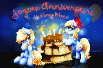 Happy Birthday Le Poney Blanc