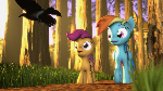 {SFM} MLP: A forest walk