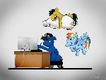 Art with Rainbow Dash