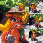Applejack with lasso