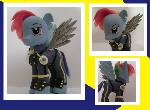 Rainbow Dash Alternate Universe War (Full Uniform)