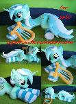 Life size (laying down) Lyra plush for sale