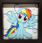 Rainbow Dash Shadowbox
