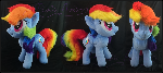 Rainbow Dash Custom Plush