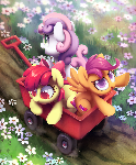 Smallish horses (EFNW print)