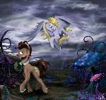 The magic world of Doctor and Derpy