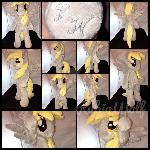 BronyCon '17-MLP 16in Anthro/Biped Derpy Plushie
