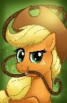 MLP Portrait Series: Applejack