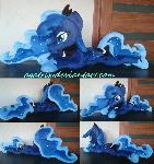 Princess Luna (laying down) plush