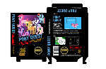 Pony Quest NES Box Art (Classic Black Box Version)
