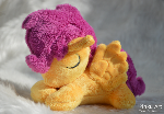 Sleepy Scootaloo plush