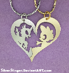 True Friendship Pendant Set