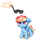 Some coolness for Dashie