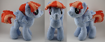 Windy Whistles Plush (aka Rainbows mum)