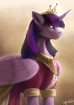 Alicorn princess Twilight Sparkle