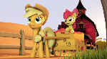 {SFM} MLP: Applejack and Applebloom