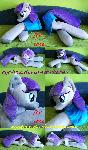 Life size laying down Maud Pie plush